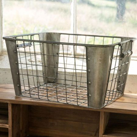 Metal Mail Basket
