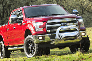 OCTA Series Bull Bar (04-19 F-150 excluding Raptor) - Polished Stainless Steel - PATENTED