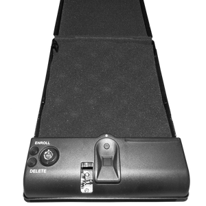 GEM Fingerprint Scanner Lock Box / Pistol Safe - Biometric Security