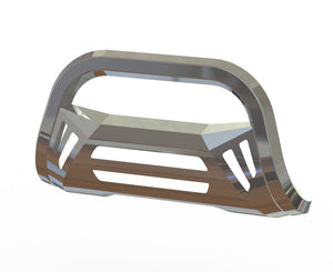 OCTA Series Bull Bar (07-18 Chevy Silverado 1500) - Polished Stainless Steel