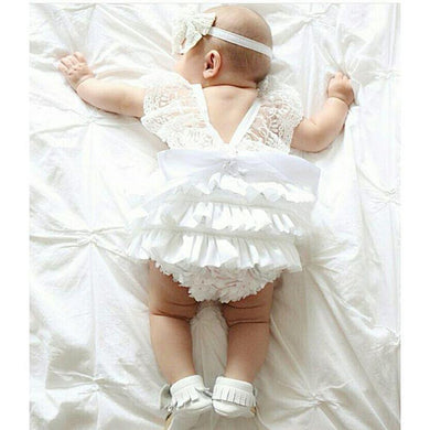 Lace Baby Romper
