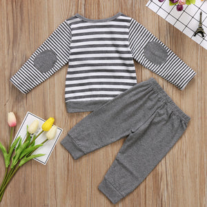 Boy Long Sleeve and Jogger Set