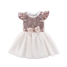 Sequins Bowknot Dress