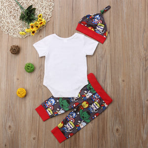 Boy SuperHero 3pc Set