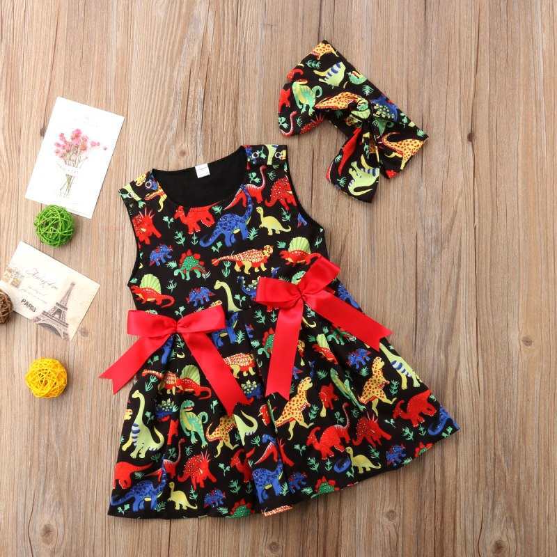 Girl Dinosaur Dress