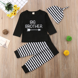 "Matching ""Little Brother"" and ""Big Brother"" Boy 3Pc Set"