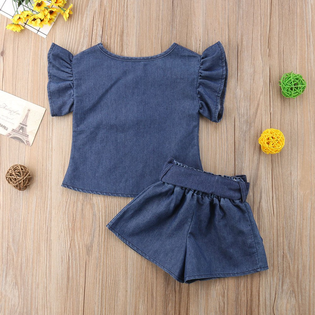 Denim Set for Girls