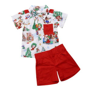 Xmass Boy Set