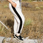 French Terry Racing Stripe Sweatpant