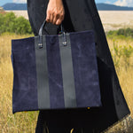 Simple Tote (NAVY)