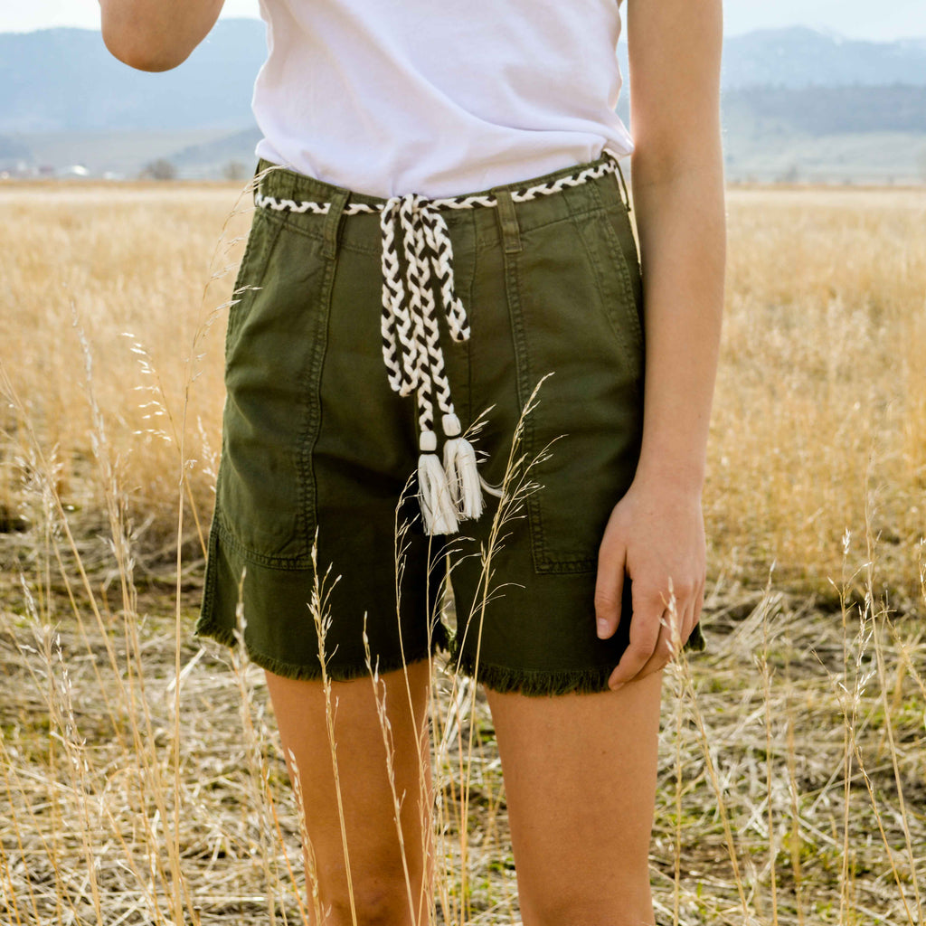 The Vintage Army Short