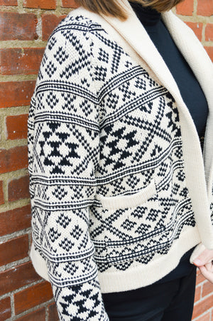 Fair Isle Lodge Cardigan