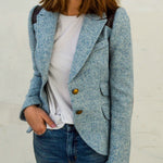 Rifle-Patch Equestrian Blazer