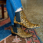 Dyla Leopard Bootie