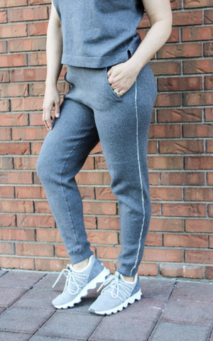 Cotton Cashmere Sweater Pant