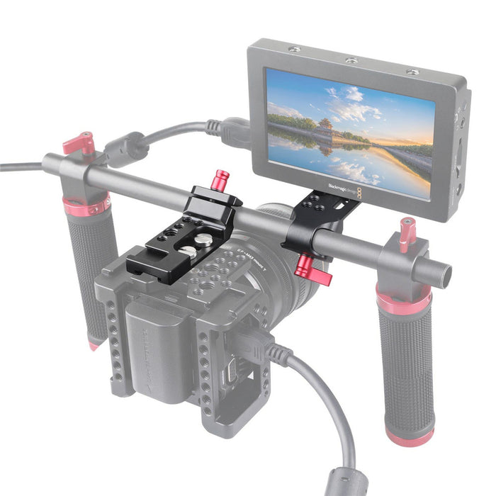SmallRig Mini Montage Platte mit 15mm Rod Clamp 1906