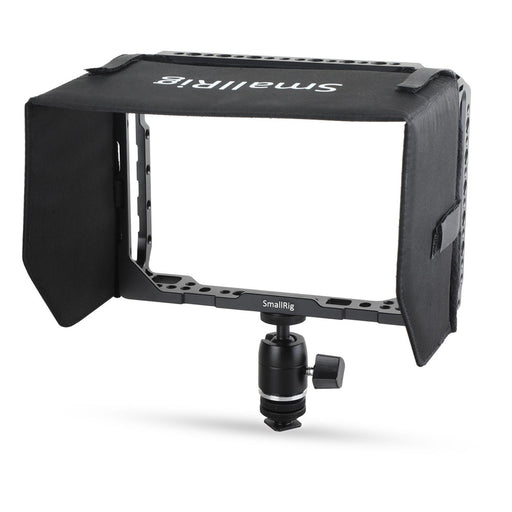 SmallRig 7 '' Monitorcage mit Sonnenblende für Blackmagic Video Assist 1988