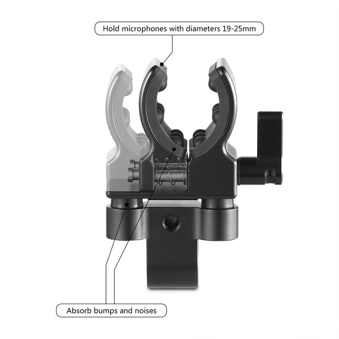 SmallRig Universal Shotgun Mikrofon Support 1993