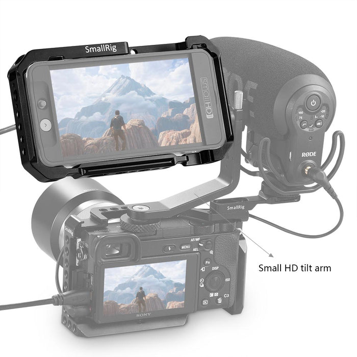 SmallRig Monitor Cage für SmallHD 501/502  2177