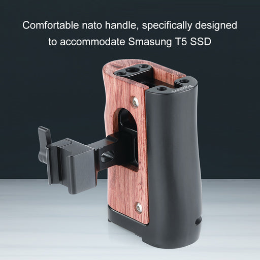 SmallRig Nato Handle für Samsung T5 SSD 2270