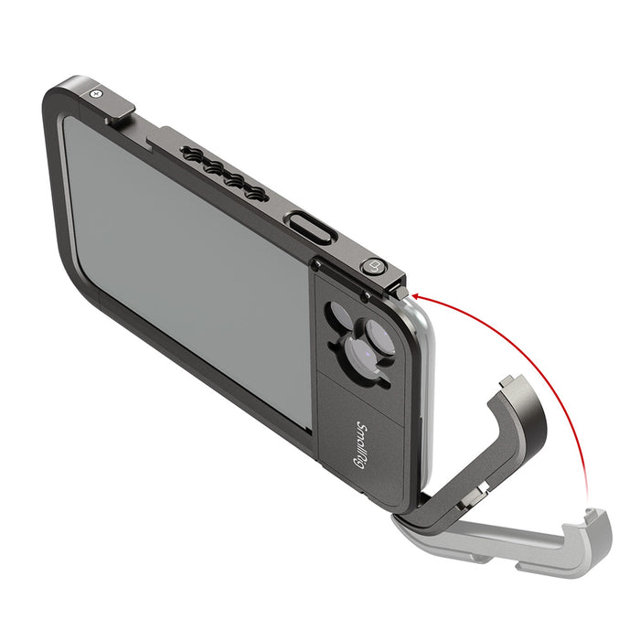 SmallRig Pro Mobile Cage für iPhone 11 Pro Max (17-mm-Version mit Gewinde) 2777