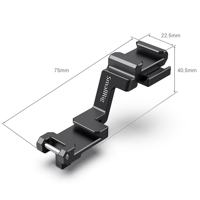 SmallRig Cold Shoe Extension Plate für Sony A7III A7R III 2662
