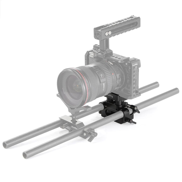 SmallRig Universale Bodenplatte mit 15mm Rod Support-System 2272