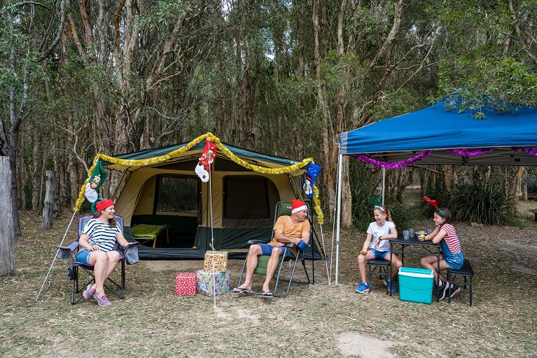 Christmas Camping: How To