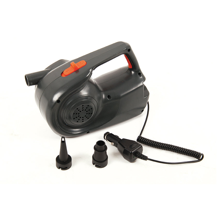 Hi-Flow Rechargeable Air Pump for both 240V & 12V
