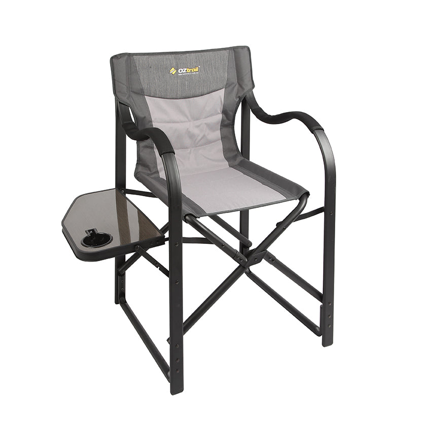 Directors Chair And Table Set: OZtrail Directors Vista Chair With Side Table