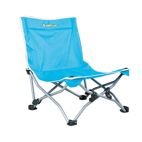 Beachside Recliner Beach Chair - OZtrail All your Camping needs