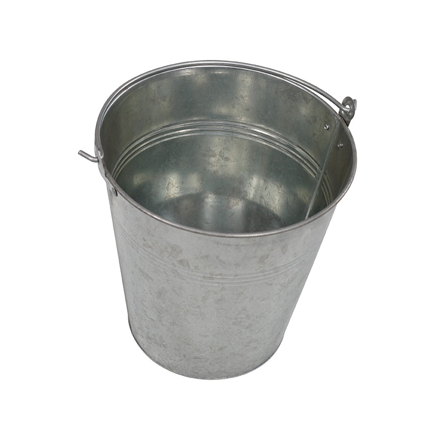Galvanised Bucket 10L