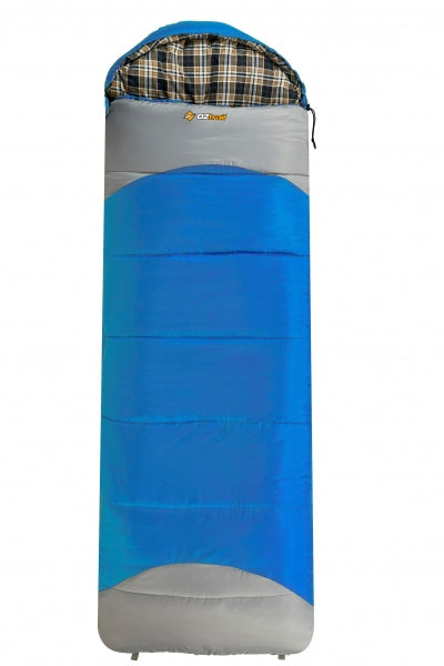 Lake View Jumbo Hooded Sleeping Bag - OZtrail All your Camping needs