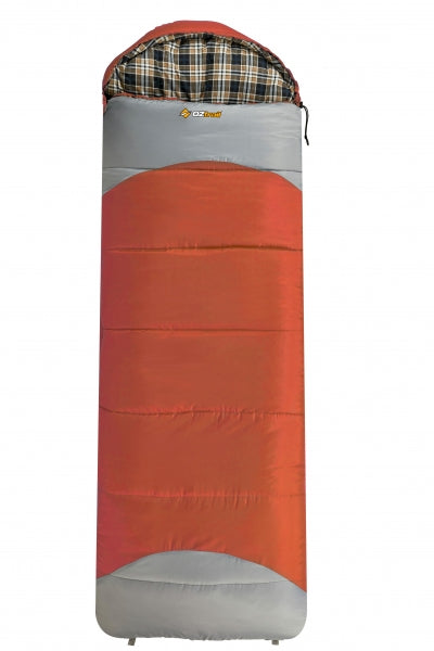 Mountain View Hooded -7C Sleeping Bag - OZtrail All your Camping needs