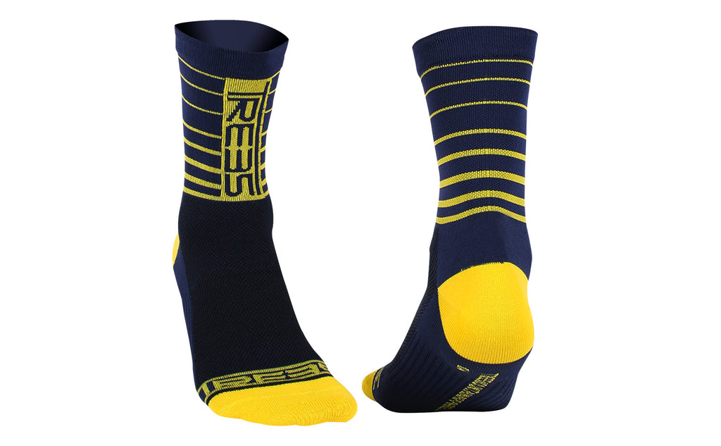 EDGE SOCKS #TMA-091MW DEEP BLUE