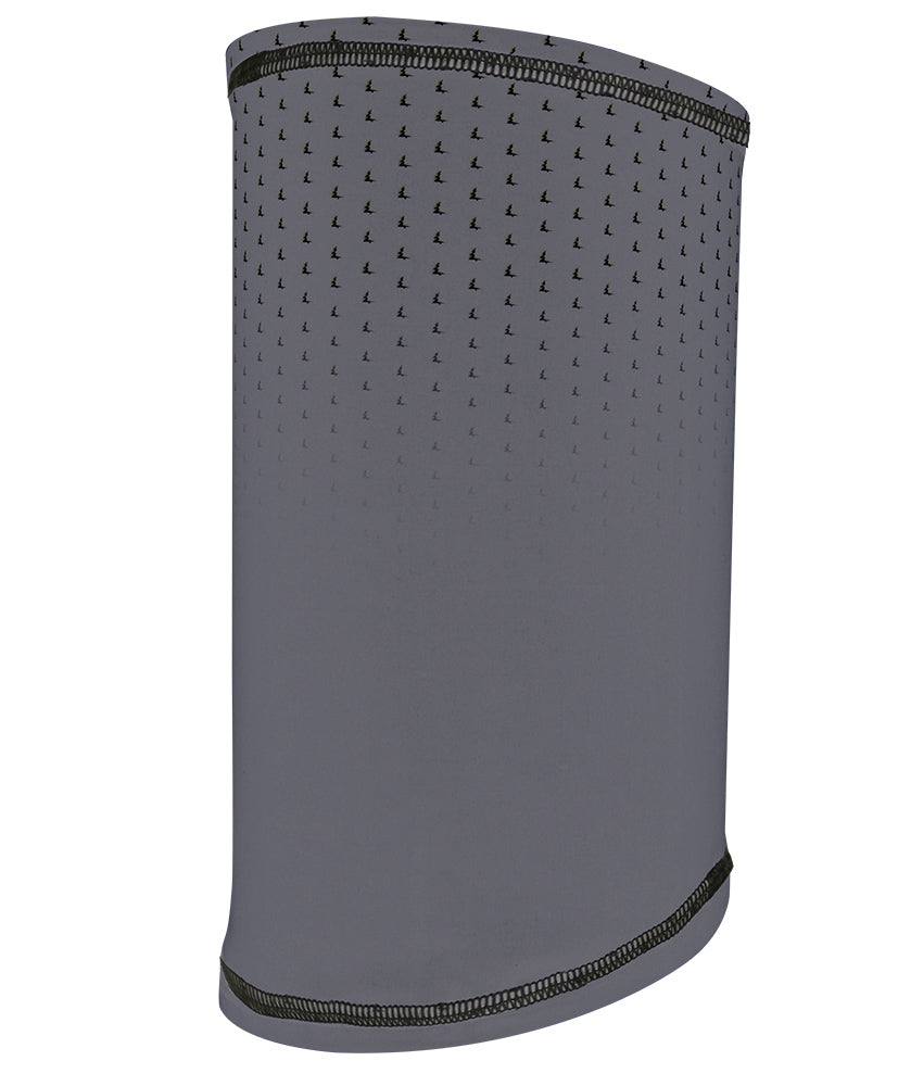 TREES NECK WARMER TMA-099MW GREY/BLACK