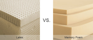 Latex, Memory Foam, Hybrids... What's the difference?