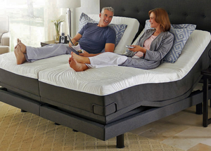 "Adjustable POWER Beds as low as $399 Twin size $799 Queen size!  as low as $12/month Twin and $17/month Queen size"" Unbeatable!"