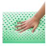 Malouf Peppermint Essential oil Infused Zoned Dough Pillow