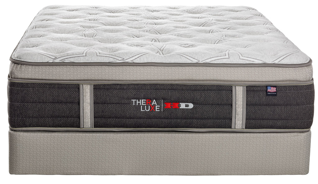 Therapedic Theraluxe HD  Heavenly Cushion Firm with latex and gelfoam hybrid mattress