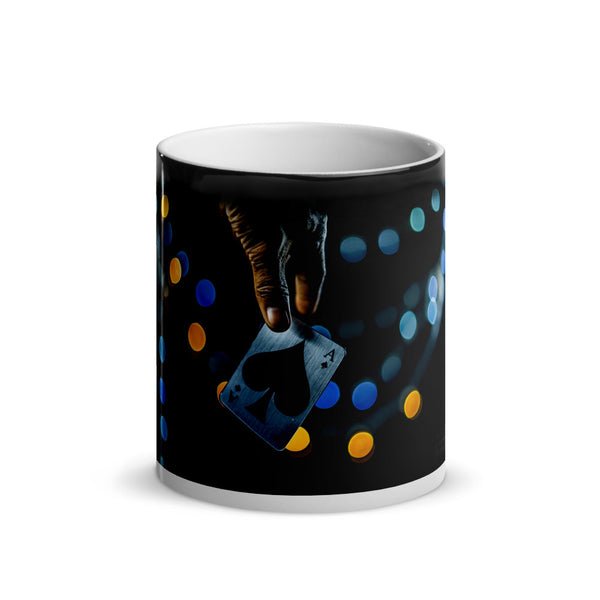 Ace of Spades Glossy Magic Mug