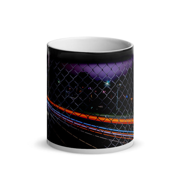 Over Arcata Glossy Magic Mug