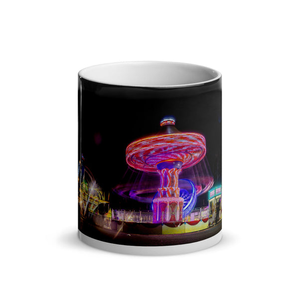 Pink and Purple Swing Glossy Magic Mug