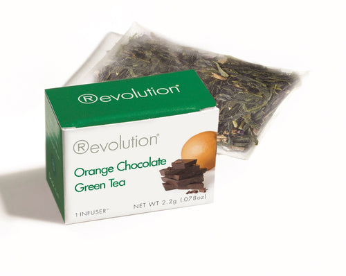 Orange Chocolate Green Tea