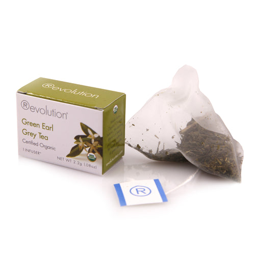 Earl Grey Organic Green Tea
