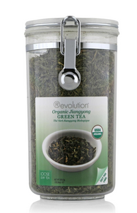 Organic Jiangyong Green Tea Loose Leaf Jar (300g Net)