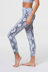 High Rise Midi Legging - Anaconda