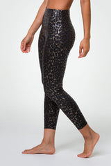 Foil Midi Legging - Regal Animal