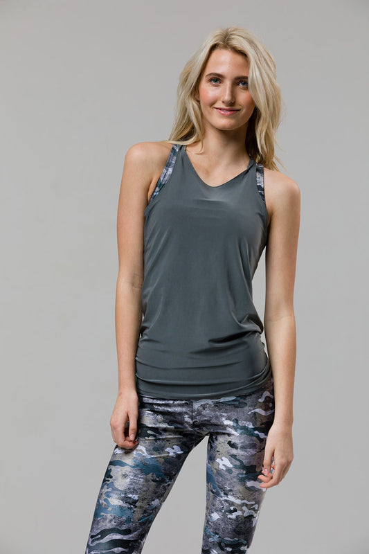 3f83cfc5ffcc3 Tie Back Tank Top - Metal.  42.00  31.50. Previous