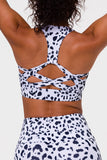 Warrior Bra - White Cheetah